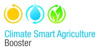 Logo con link a Climate Smart Agricolture - Booster
