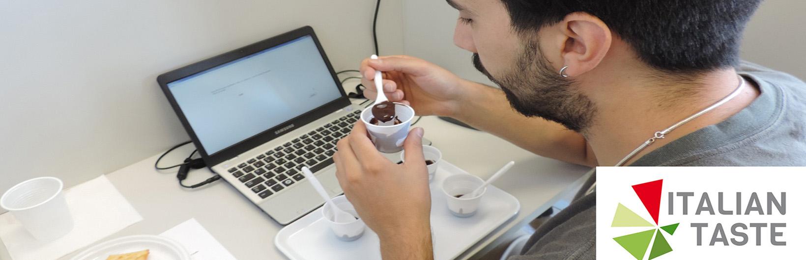 Assaggio di cioccolato a diverse concentrazioni di zucchero