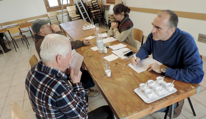 test anziani, odori e sapori